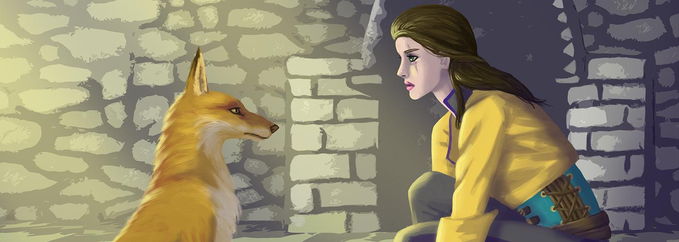 Sofya and the fox